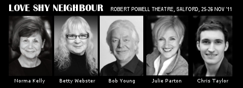 Love Shy Neighbour Cast - Norma Kelly, Betty Webster, Bob Young, Julie Parton, Chris Taylor