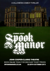 Spook Manor Poster