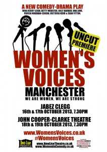 Womens Voices Web Poster